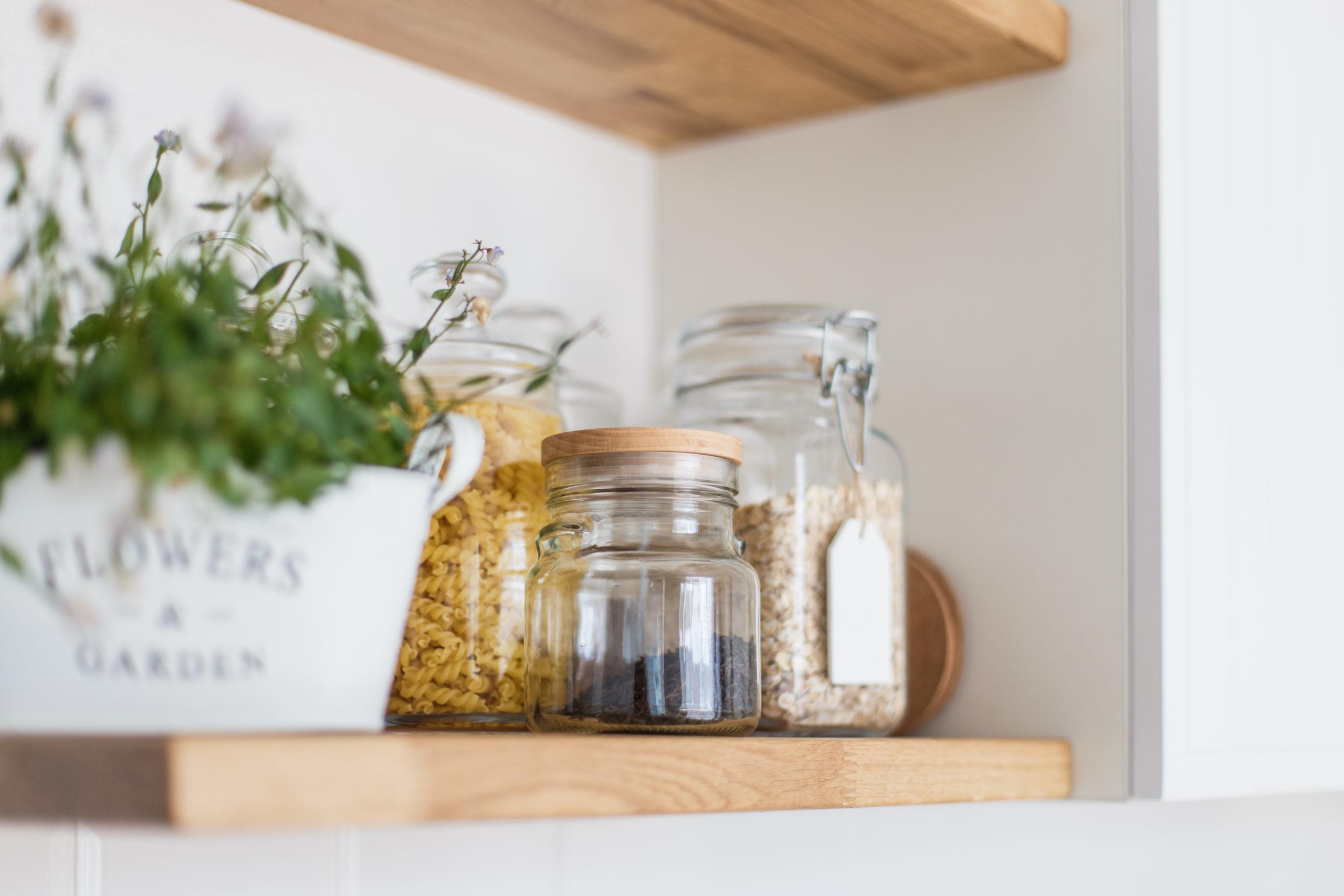 Tiny Home Shelves